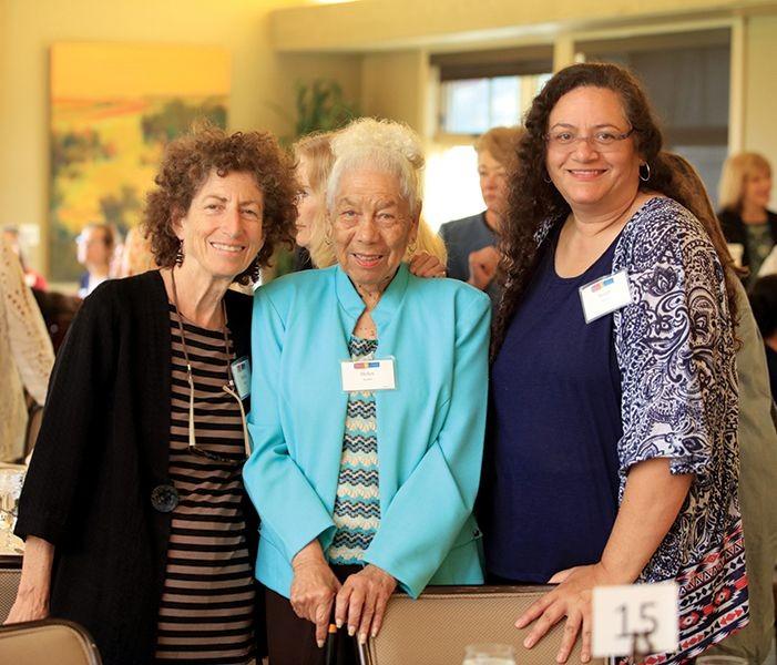 Marsha Moroh, Helen Rucker, and 2011-12 WLC Scholarship Recipient Susan Brown