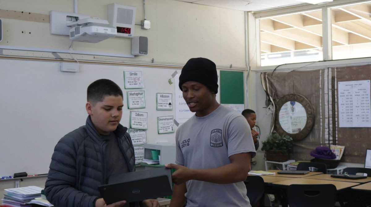Richard Connell, Service Learning Student Leader @ Seaside Middle School