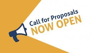 call for proposals now open graphic