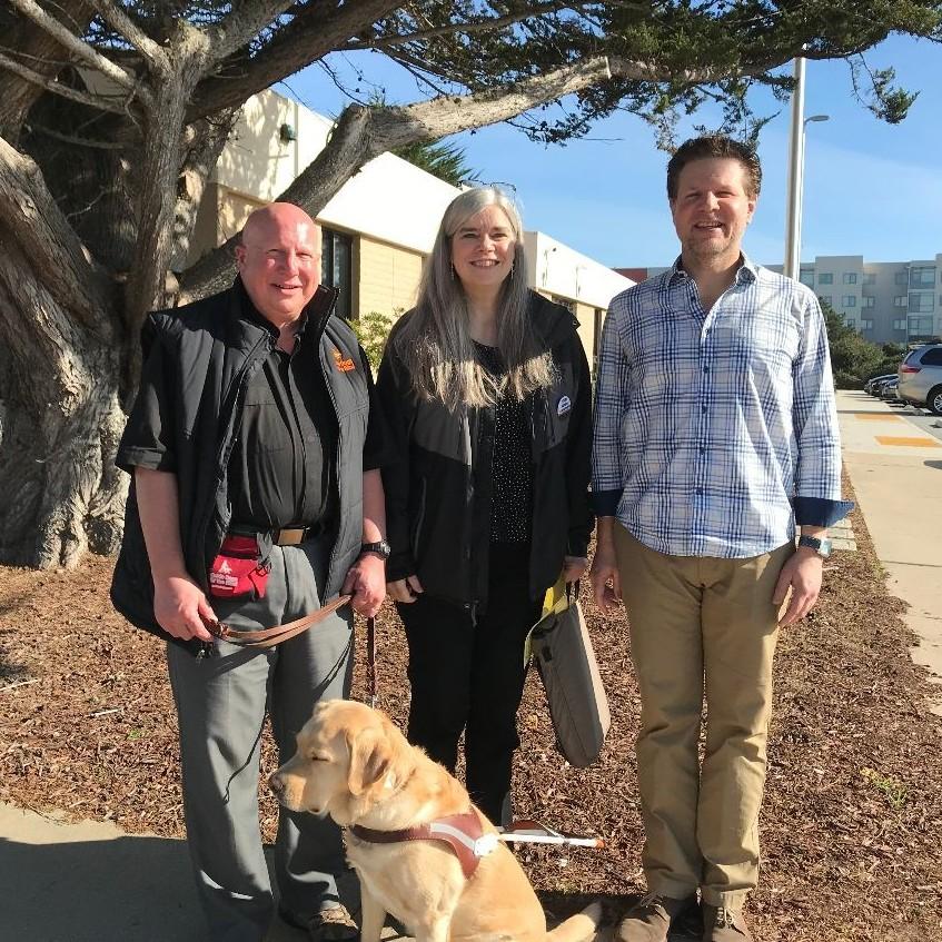 Photo of Jon, Elaine, Clark and Arlington