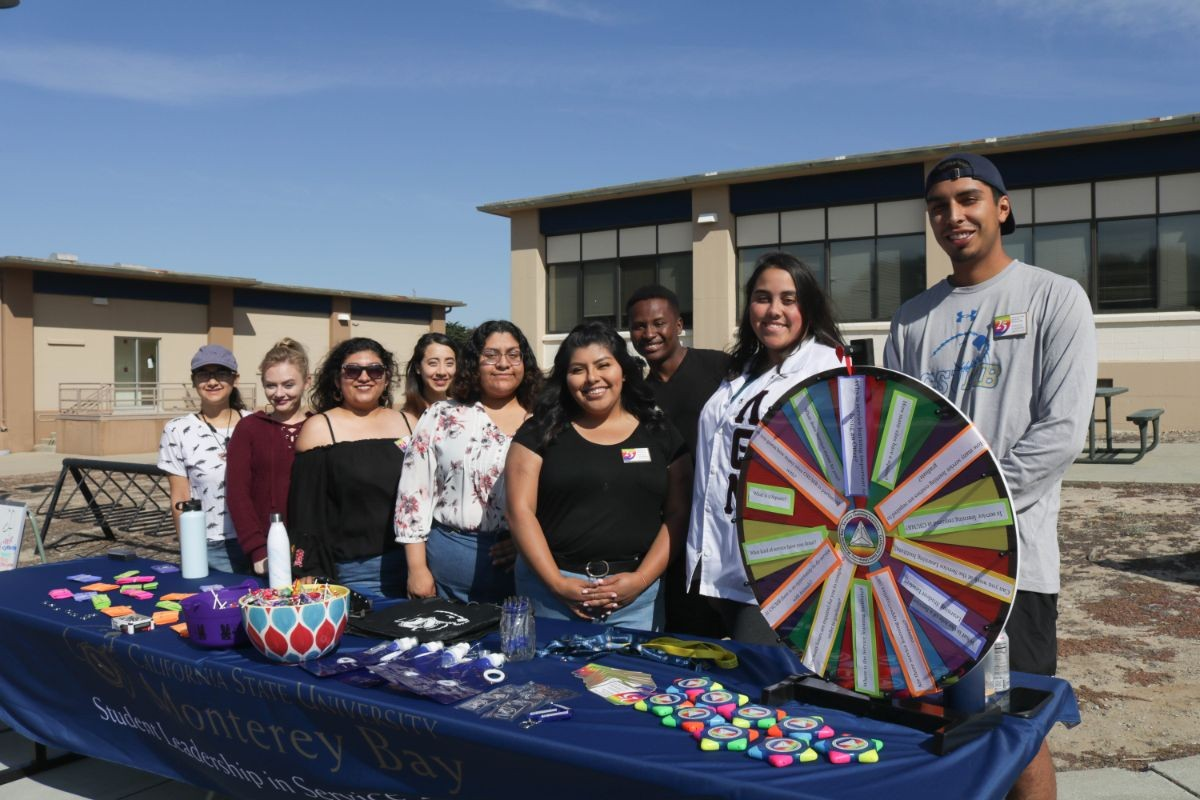 Student Leaders at Discover CSUMB - Open Campus Event
