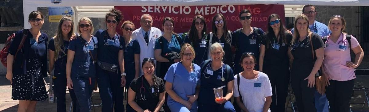 CSUMB Nursing Group Photo in Guadalajara