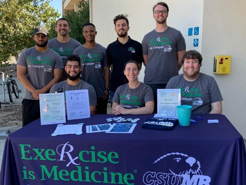 Exercise is Medicine On Campus team