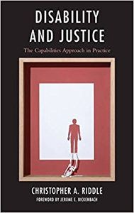 book cover disability and justice