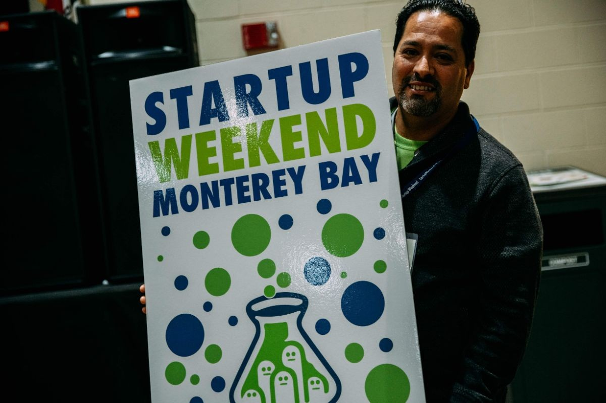 Startup Weekend Sign