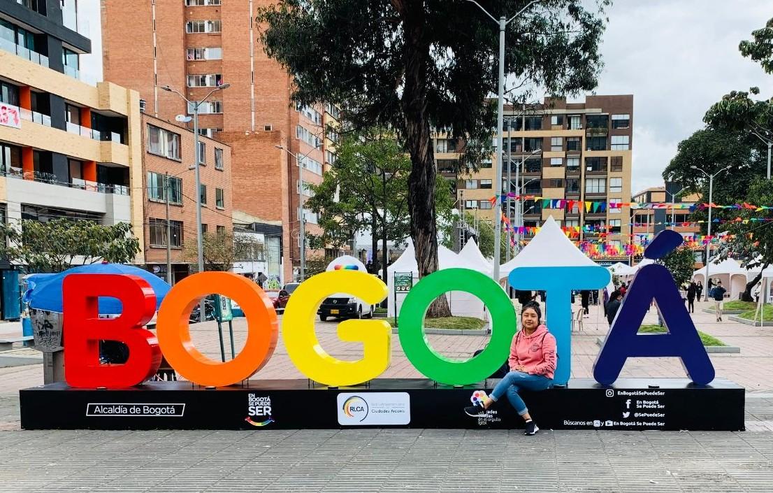 Carelen Matias in Bogotá