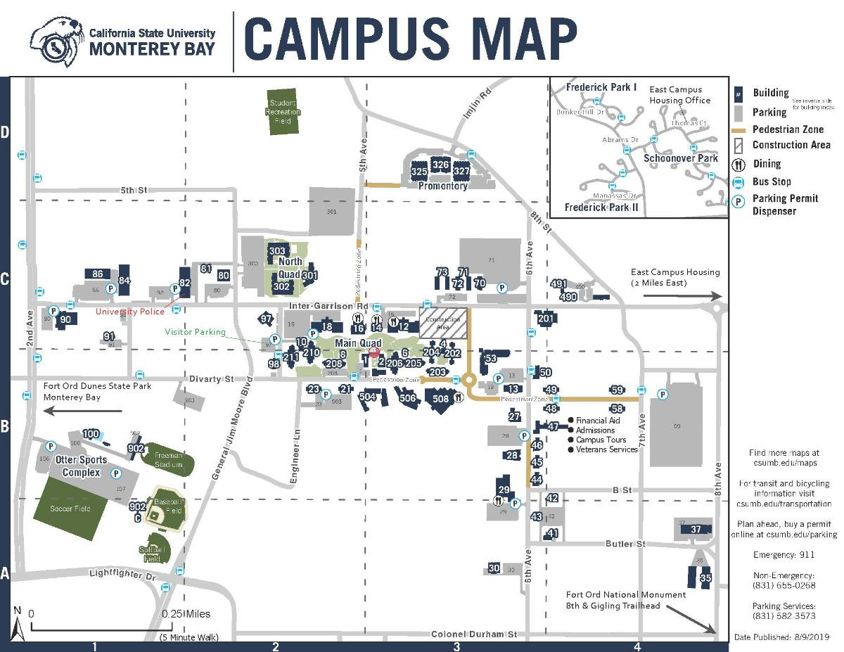 Printable campus map thumbnail