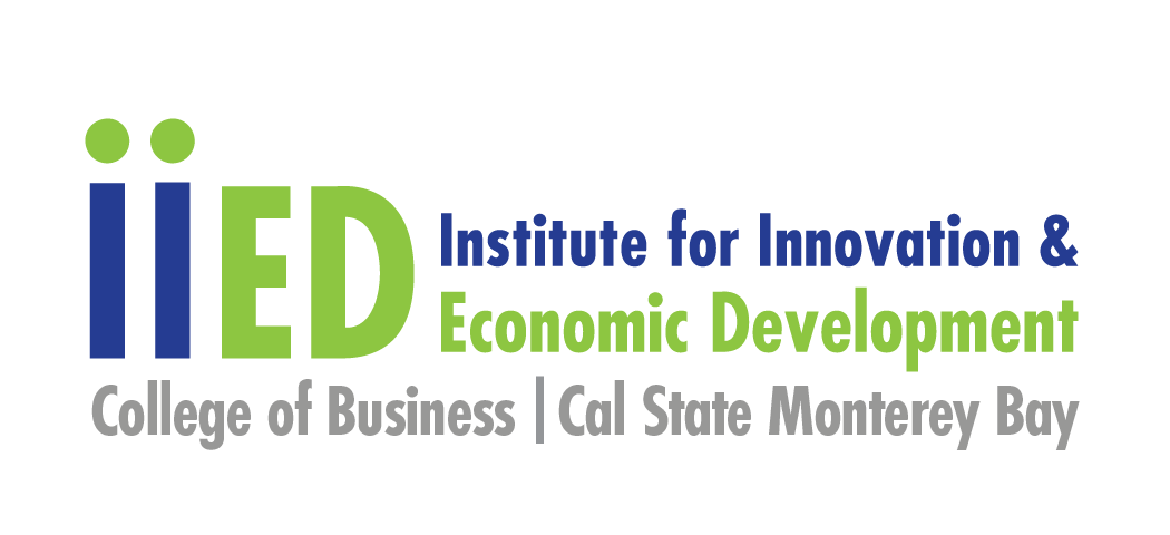 iiED logo with College of Business/Cal State Monterey Bay