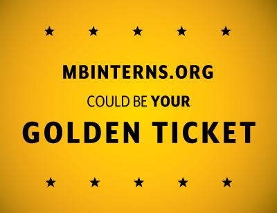 Monterey Bay Internships Golden Ticket