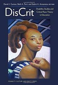 book cover discrit disability studies and critical race