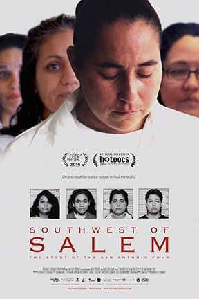 The cover image for the documentary Southwest of Salem.