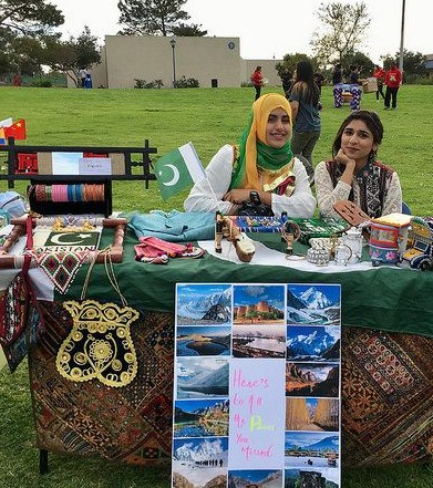 Photo of Table Representing Pakistan at IEW 2017