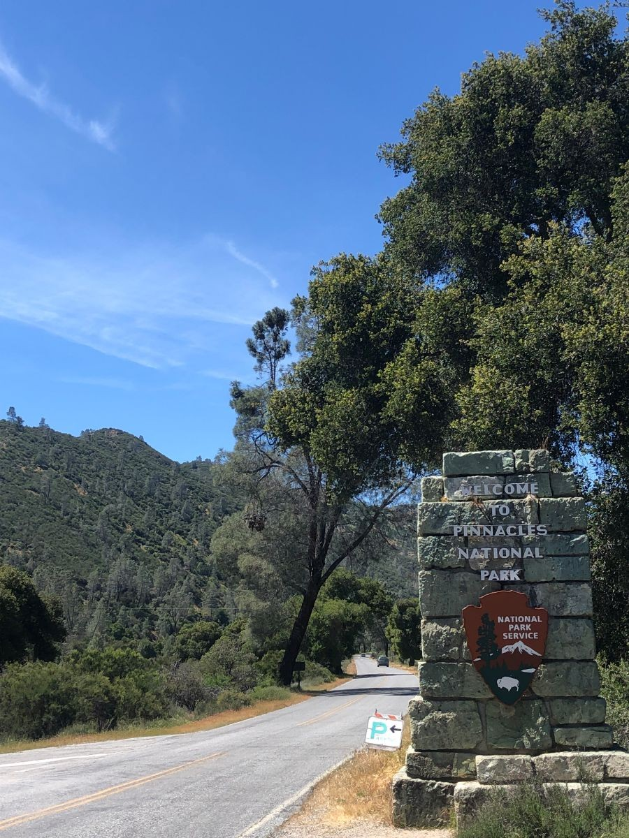 Entrance to Pinnacles National Park. Photo by Sean Gladysz