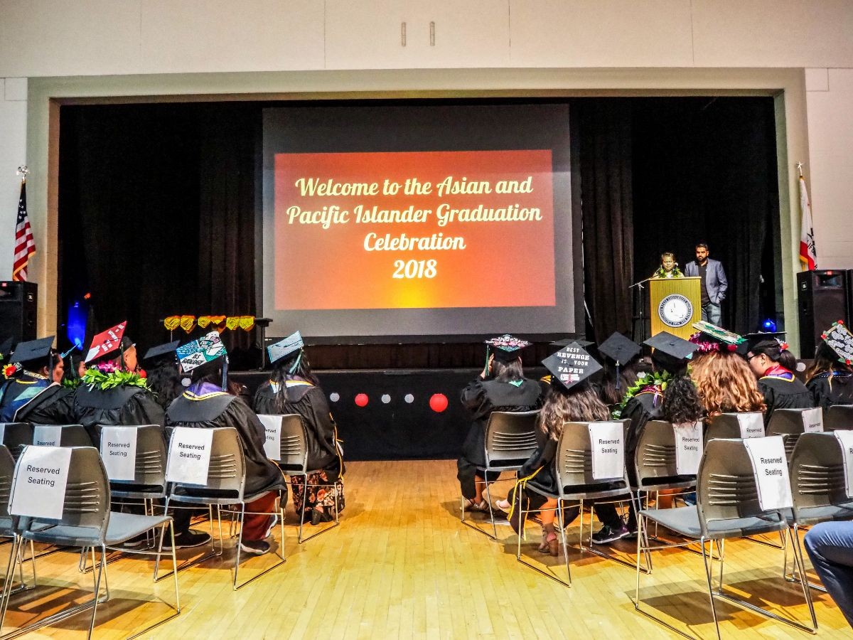 Asian and Pacific Islander Graduation