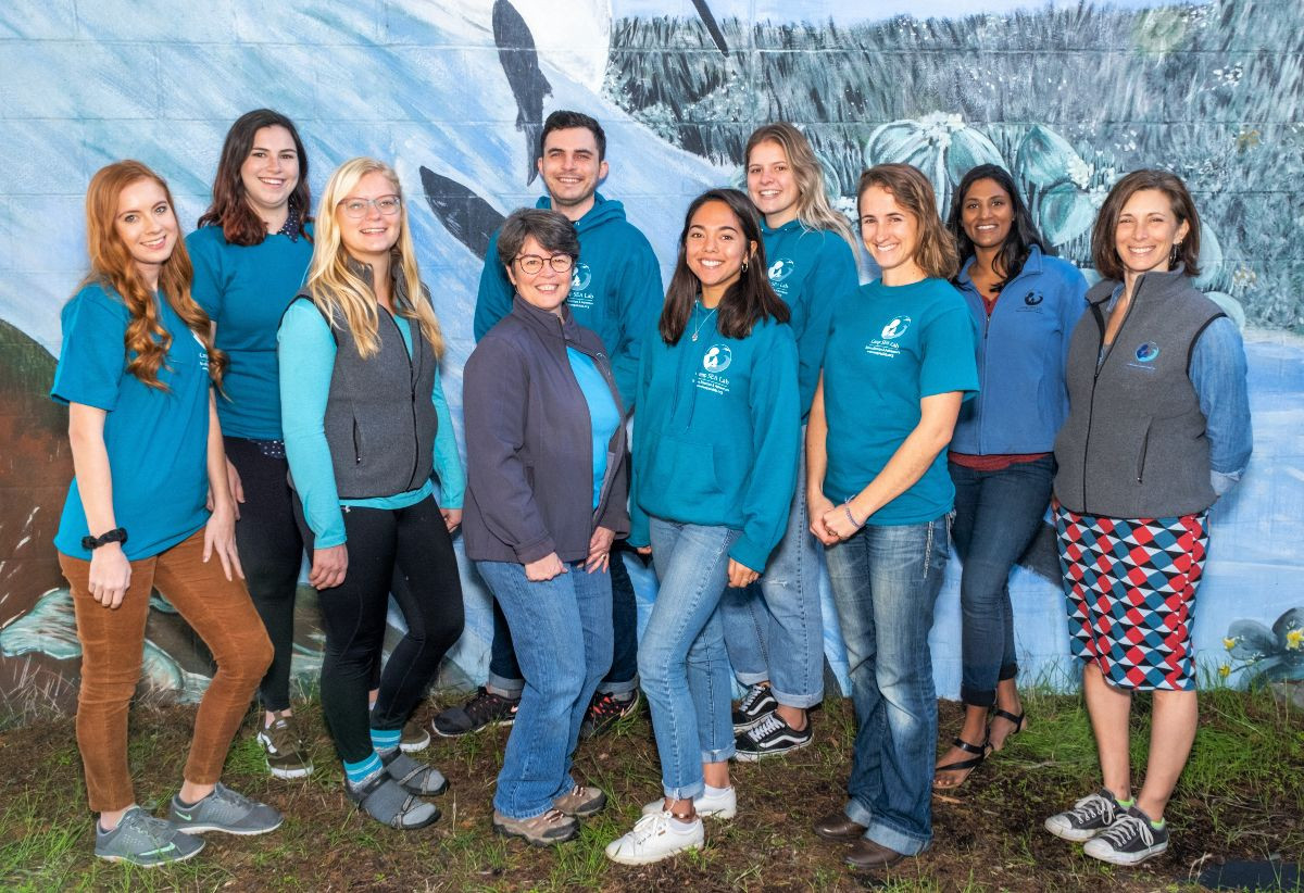 All ten members of the Camp SEA Lab Spring 2020 staff.