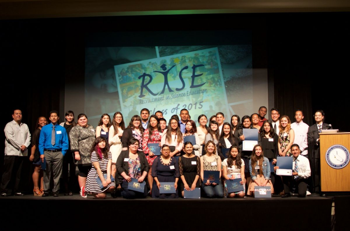 RISE graduation picture for class of 2015.