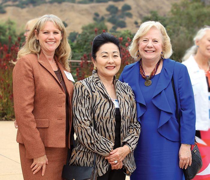 Deneen Guss, Sherrie McCullough, and Nancy Kotowski