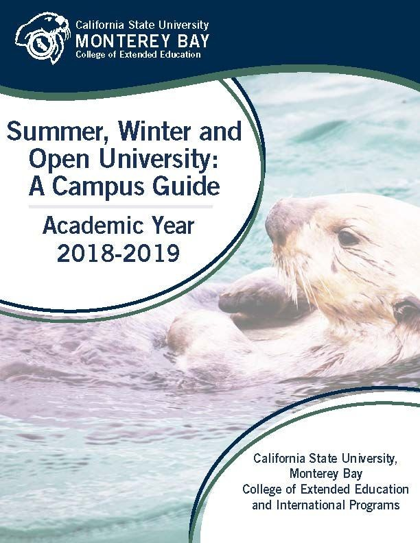 Picture of the cover for the Special Sessions Campus Guide for 2018-2019