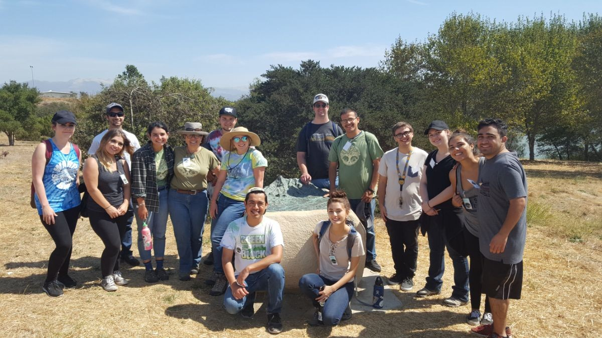 RON Staff and Service Learners work together at community events
