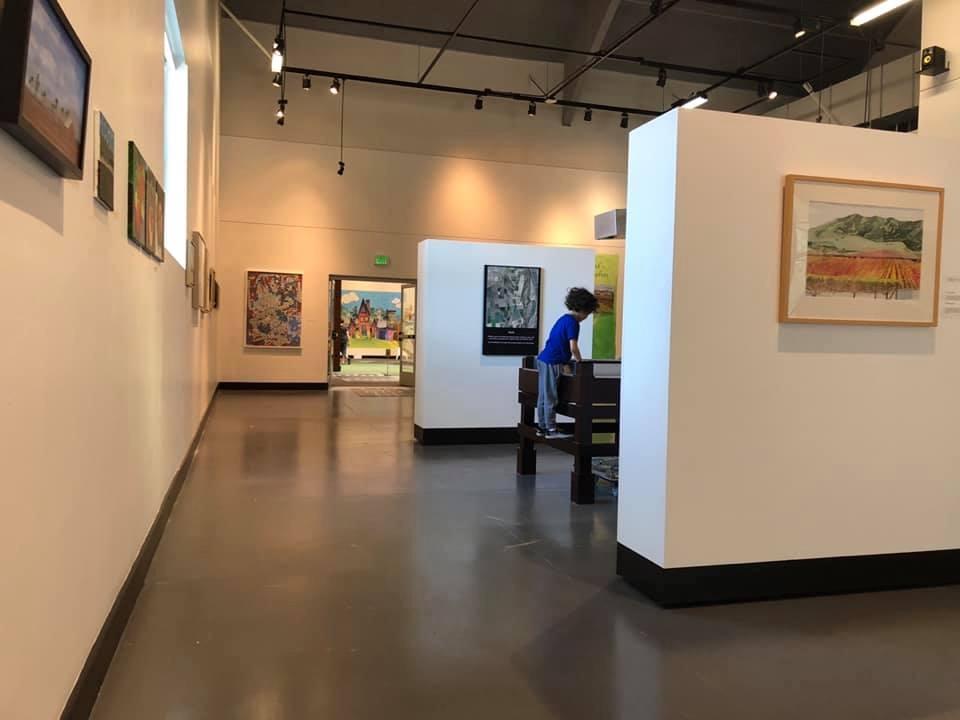 Photo of a gallery