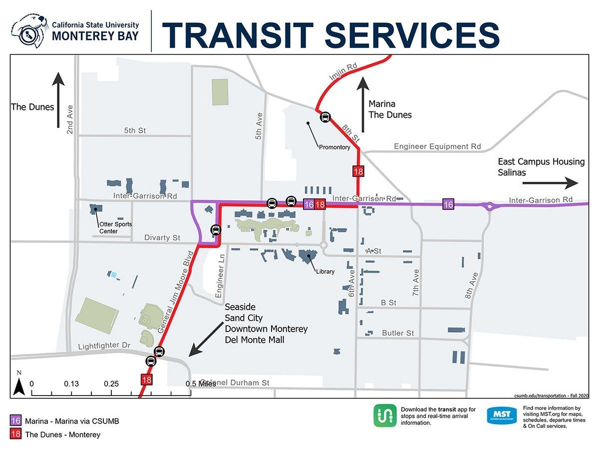 Transit Services map thumbnail