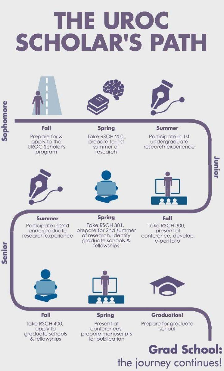 Roadmap of the UROC Scholar's journey