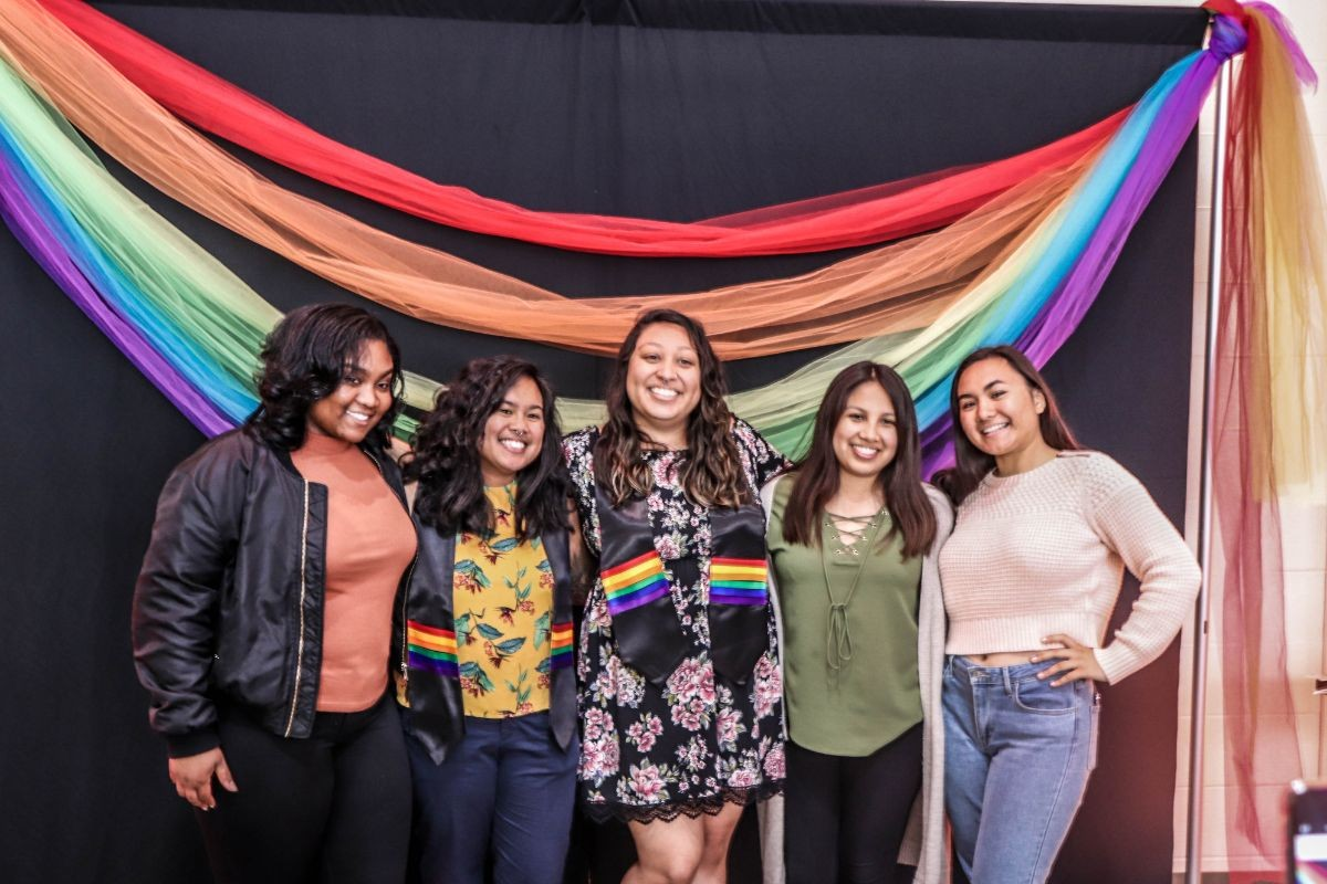 Rainbow Graduation Celebration