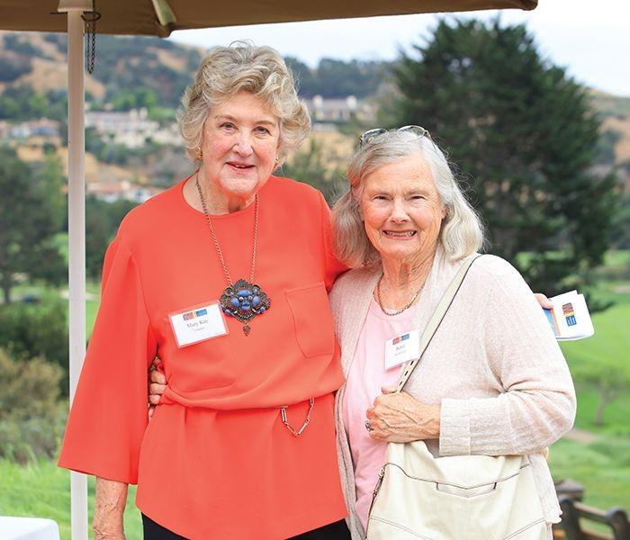 CWD Honoree Mary Kay Crockett and Bertie Bialek Elliott