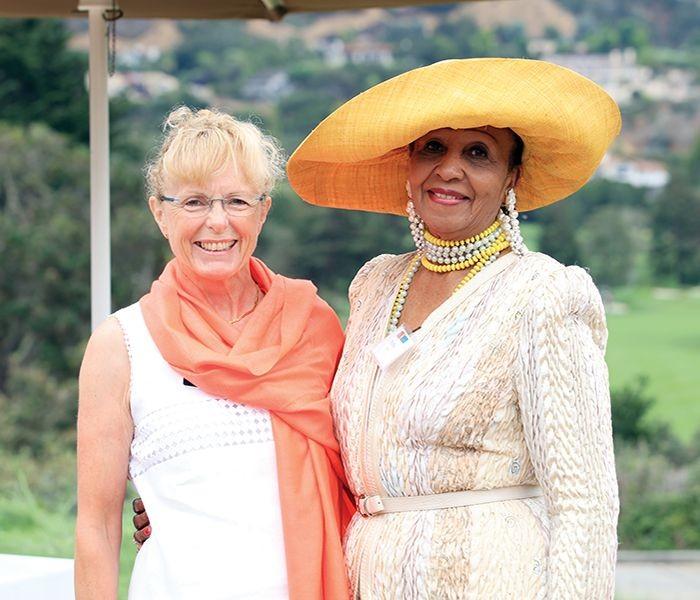 Annie Warr and Ruthie Watts