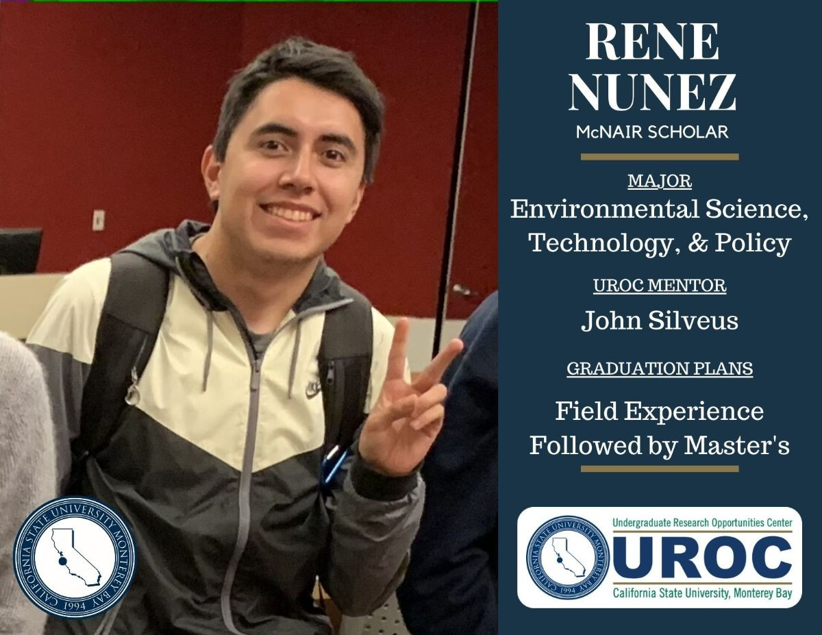 Graduation tribute to Rene Nunez