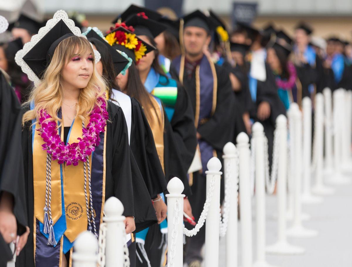 Graduating students of CSUMB