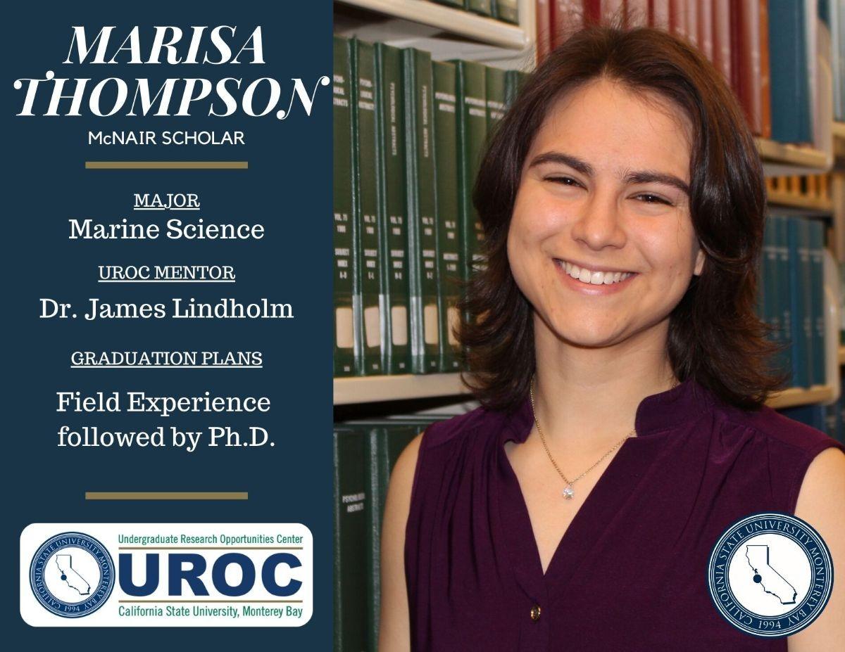Graduation tribute to Marisa Thompson