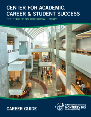 of Career Guide cover.